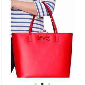 Kate Spade Sawyer Street Tori Leather Tote